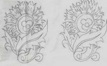 lale motifli nakış desen çizimleri - Google'da Ara