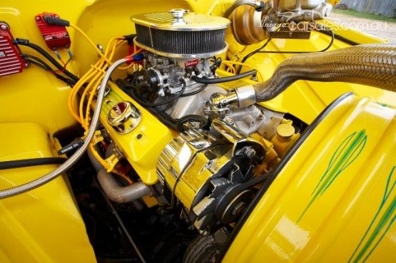 1962 Chevrolet Pickup 383 V8 Engine 425 Hp Alloy Heads Roller