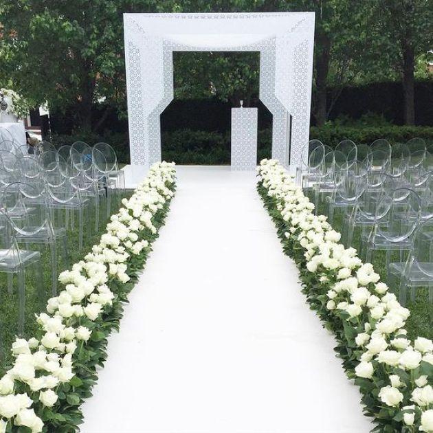 38 Modern Wedding Aisle Decor Ideas in 2020 | Wedding ...