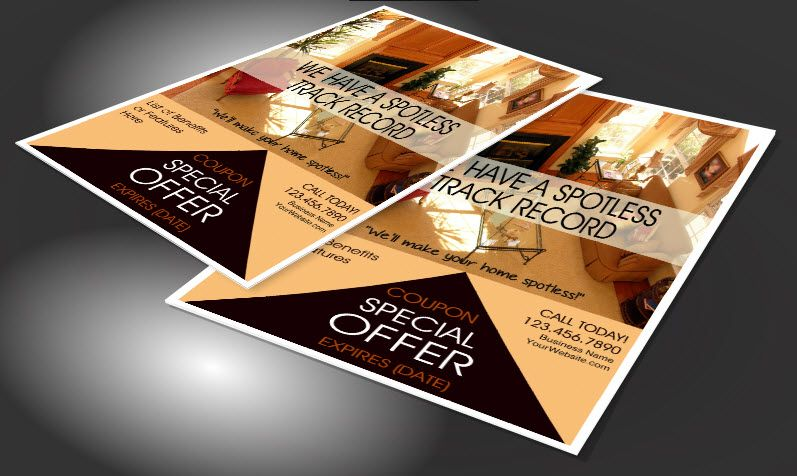 House Cleaning Flyers to Promote Your Business | Cleaning Business ...