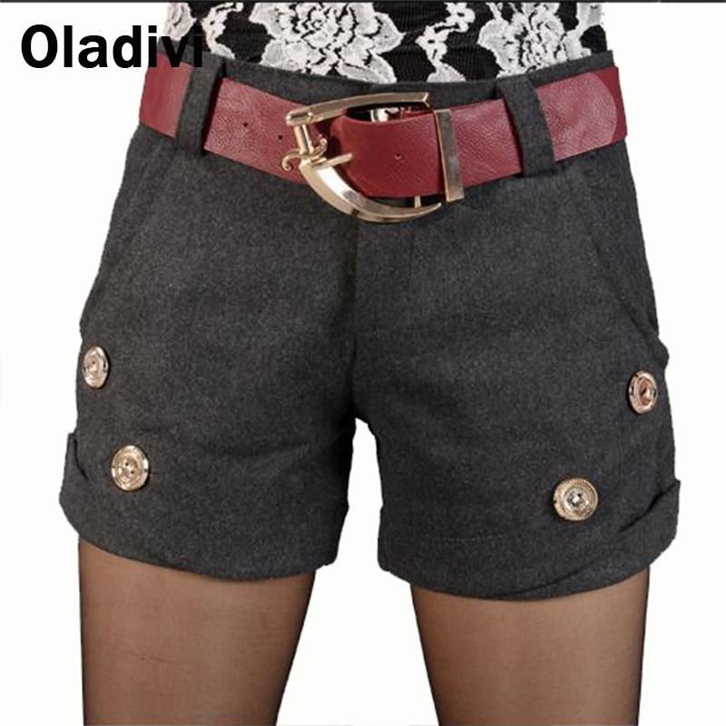 Find More Shorts Information about XXXL Plus Size Women Clothing 2015 New Autumn Winter Fashion Female Wool Shorts Girl Short Pants Ladies Boot Cut Trousers Black,High Quality trouser hanger,China clothing mannequin Suppliers, Cheap trousers women from Oladivi Group - Minabell Fashion Store on Aliexpress.com