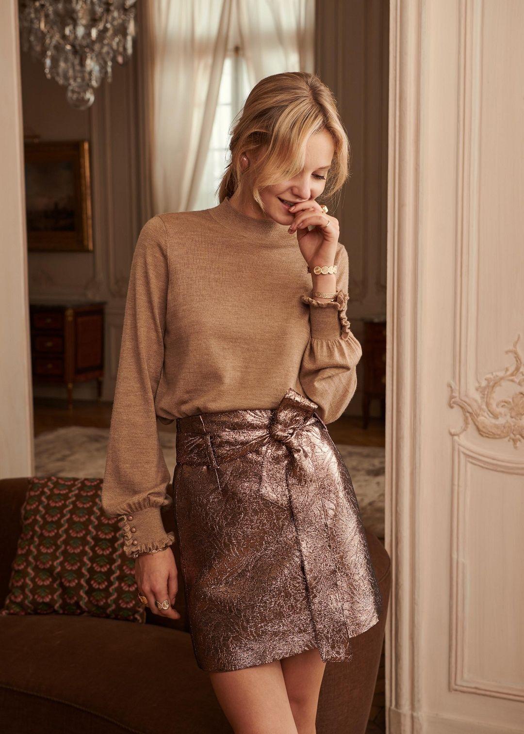 Sézane Pull Hazel Idées de mode, Élégance à la