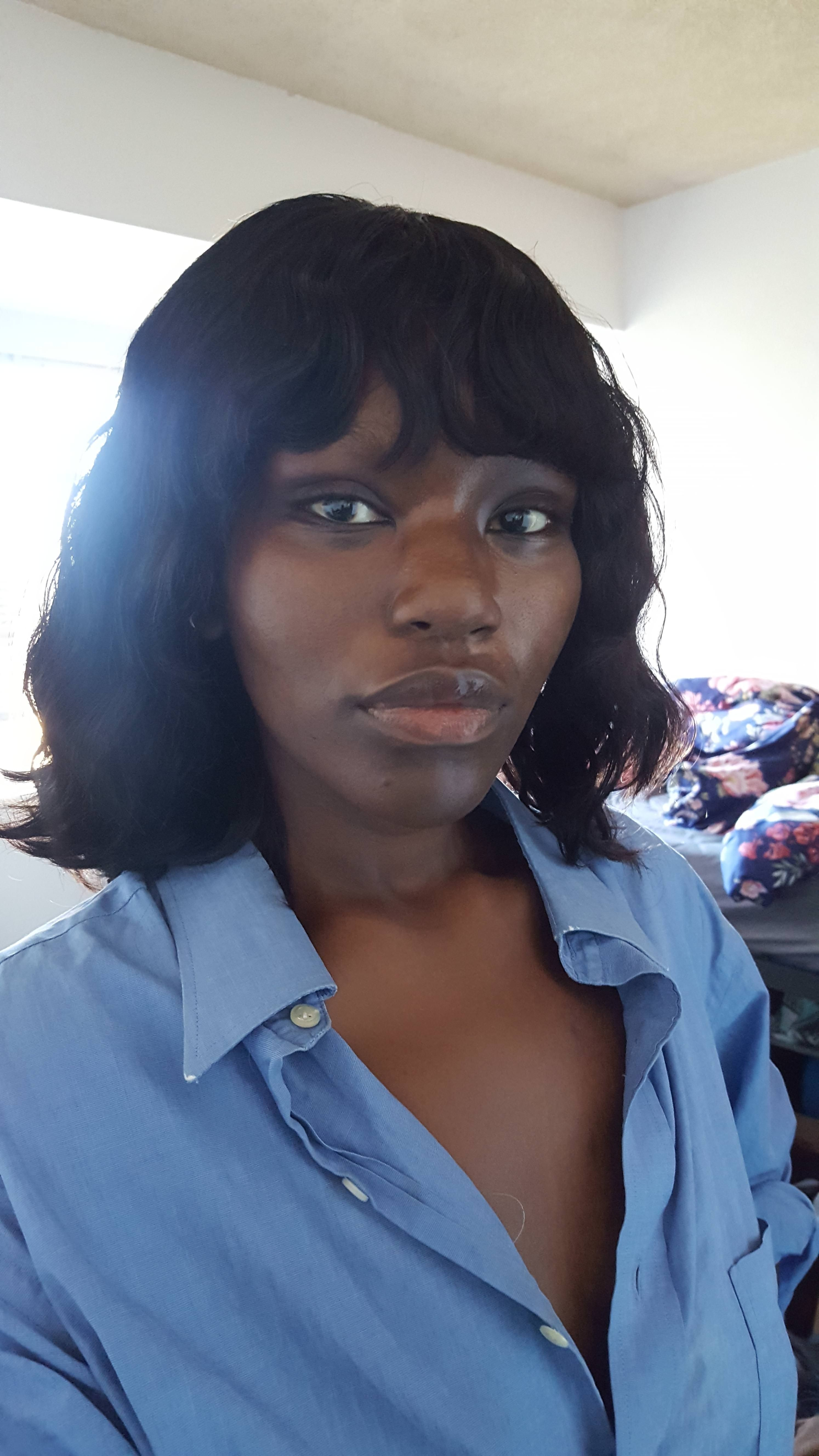 Cut a wig into a bob with no experience and am wondering if it came out  well. Are the bags too short  How can I improve it   hair  beauty  Skin   Deals  me ... 95955f0814