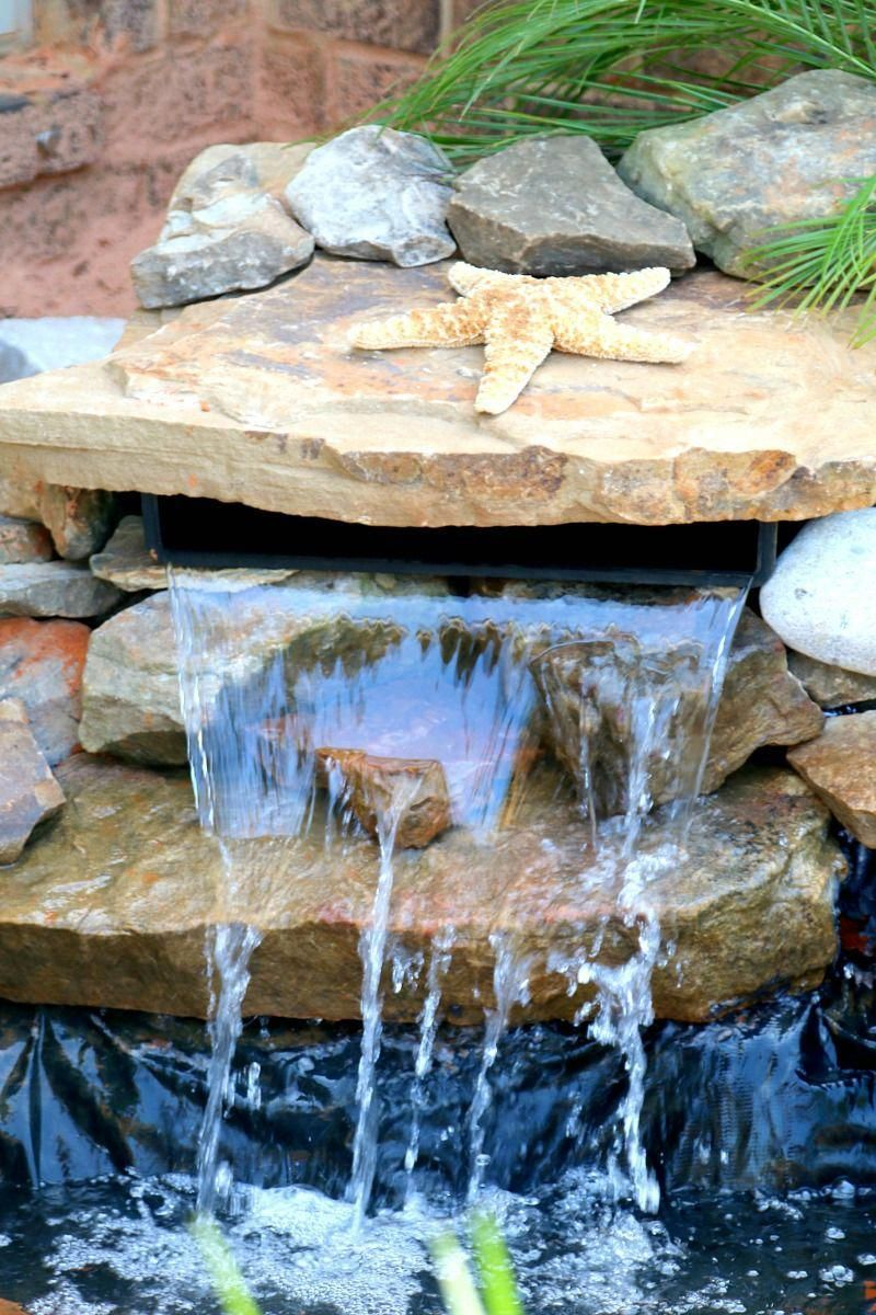 How to Build a Pond and Waterfall - perfect for your Front ...