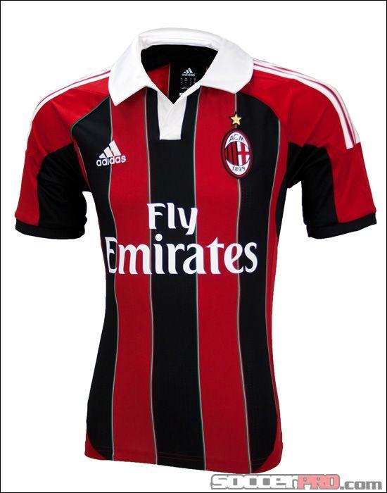 buy popular e792b 6329d adidas AC Milan Home Jersey 2012-2013... 76.49