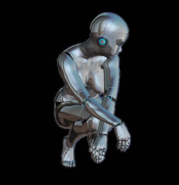 無償のイラストレーション: 女の子, 女性, ポーズ, フロント, ロボット, サイボーグ - Pixabayの無料画像 - 320264