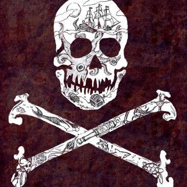 Pirate Mythology by artist DePaula