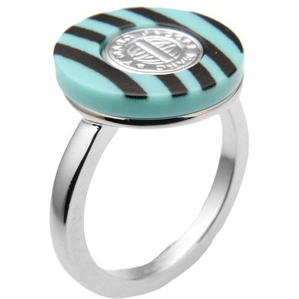 Marc By Marc Jacobs Ring ($60) ❤ liked on Polyvore featuring jewelry, rings, light green, marc by marc jacobs ring, marc by marc jacobs jewelry and marc by marc jacobs