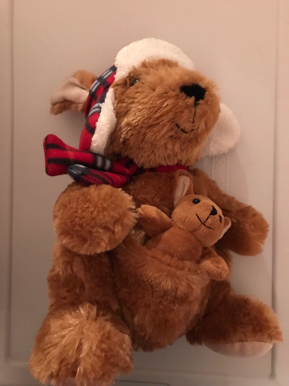 Weighted Stuffed Animal Kangaroo 3 Lbs Sensory Toy Washable