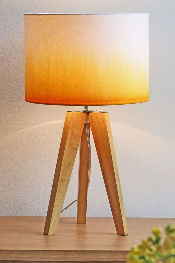Another Dip Dye Lampshade Part Of Our Yellow Obsession