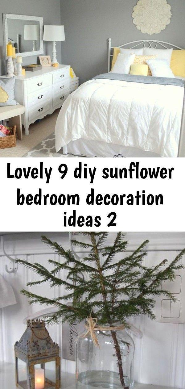 Lovely 9 diy sunflower bedroom decoration ideas 2 #sunflowerbedroomideas Lovely 9 diy sunflower bedroom decoration ideas 2 #sunflowerbedroomideas