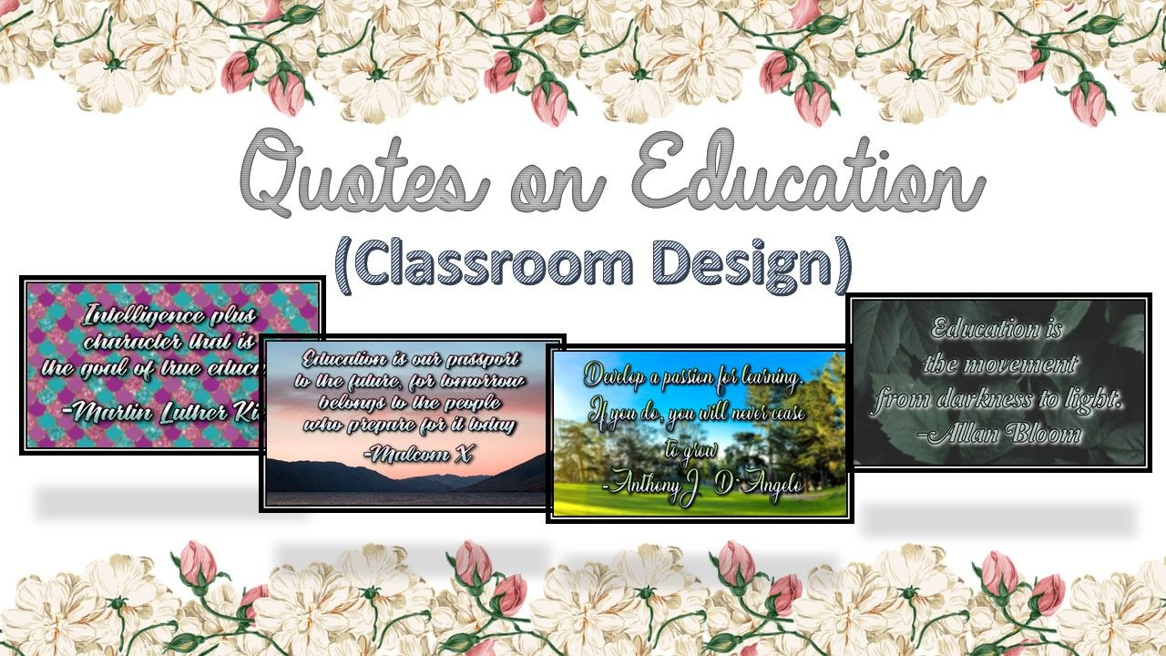 Free posters for classroom design. Education quotes