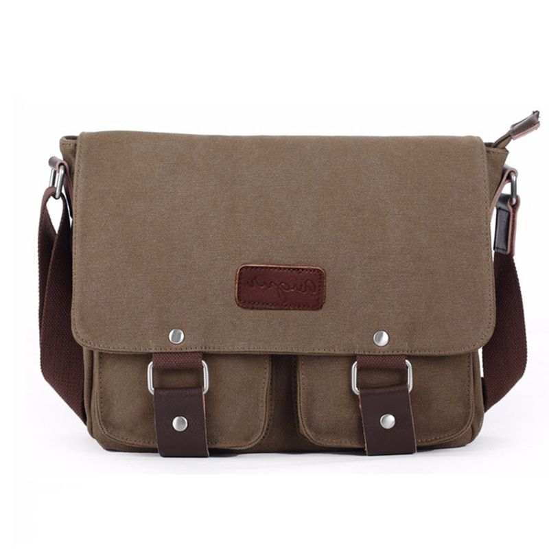 8bec19b503ab NEW Canvas shoulder bags Vintage High quality Crossbody travel bag Men s  Messenger Laptop Bags Casual Teenagers