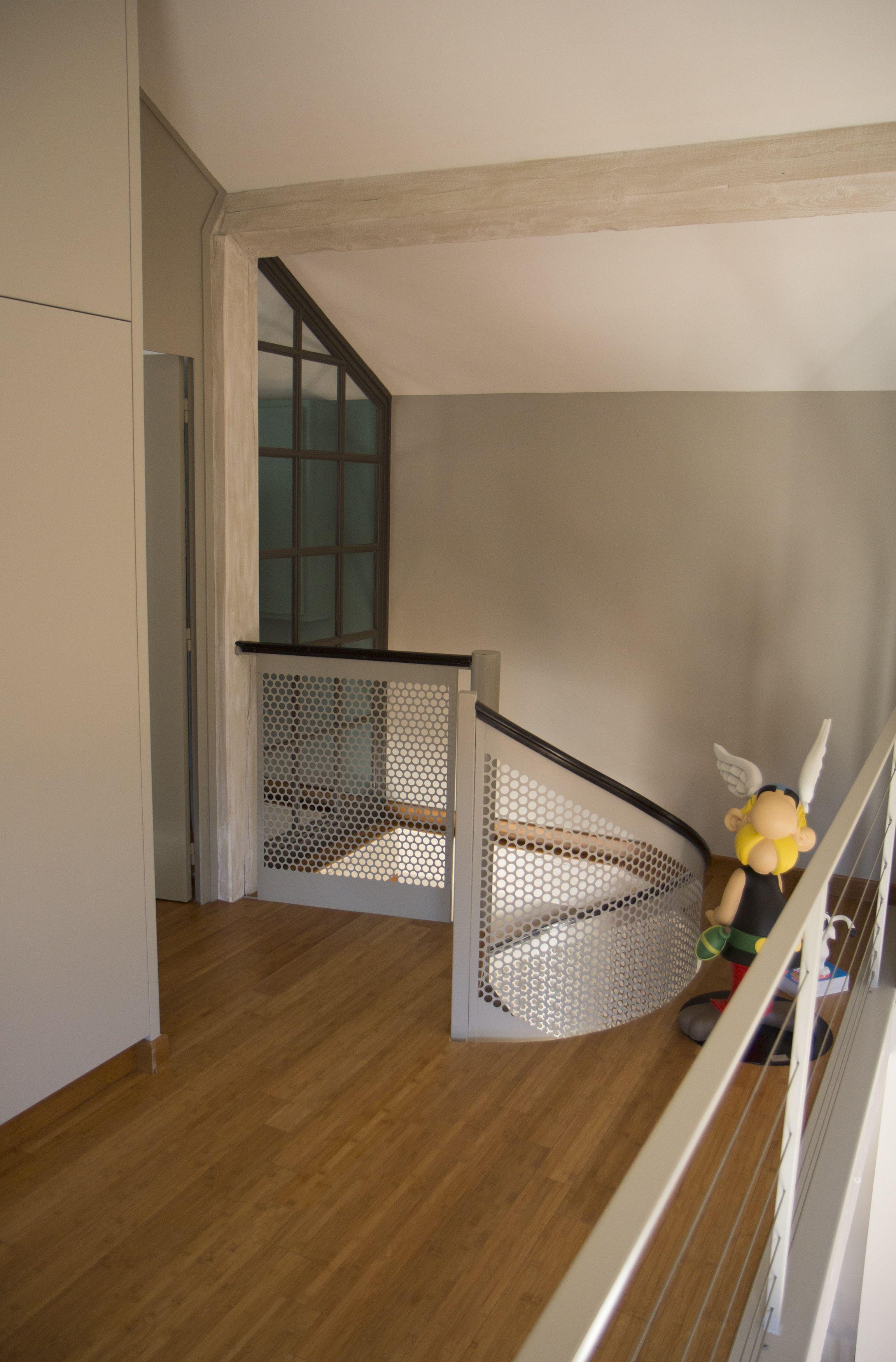 R Novation Maison De Campagne Mezzanine Acc S Chambre Escalier
