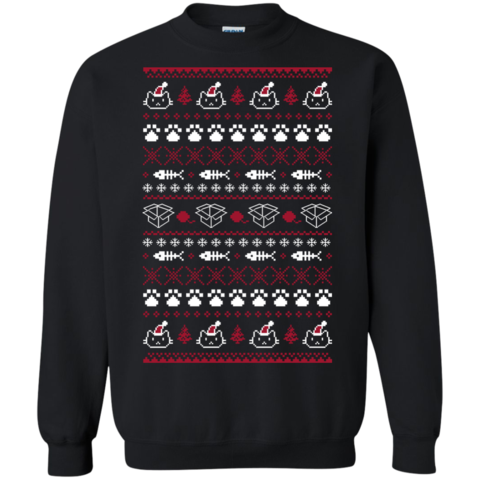 ugly christmas sweaters purrfect christmas the sun cat