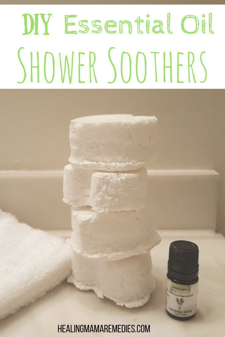 DIY Essential Oil Shower Soothers Diy body butter