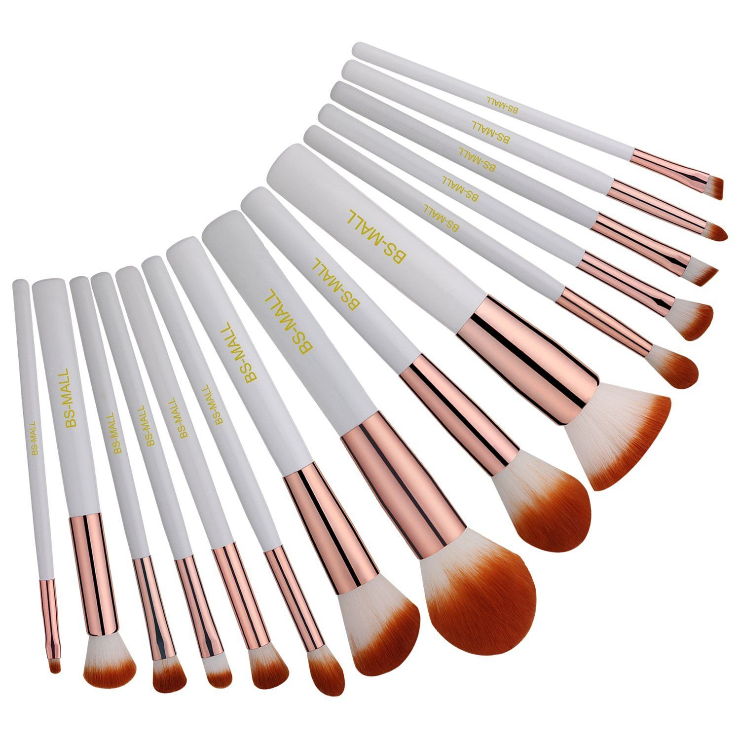 BSMALLTM Premium Synthetic Kabuki Makeup Brush Set