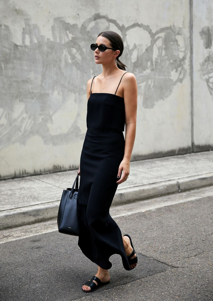 Black dress in summer - Engaging Chic Street Stylesin Summerbest Dresseddress