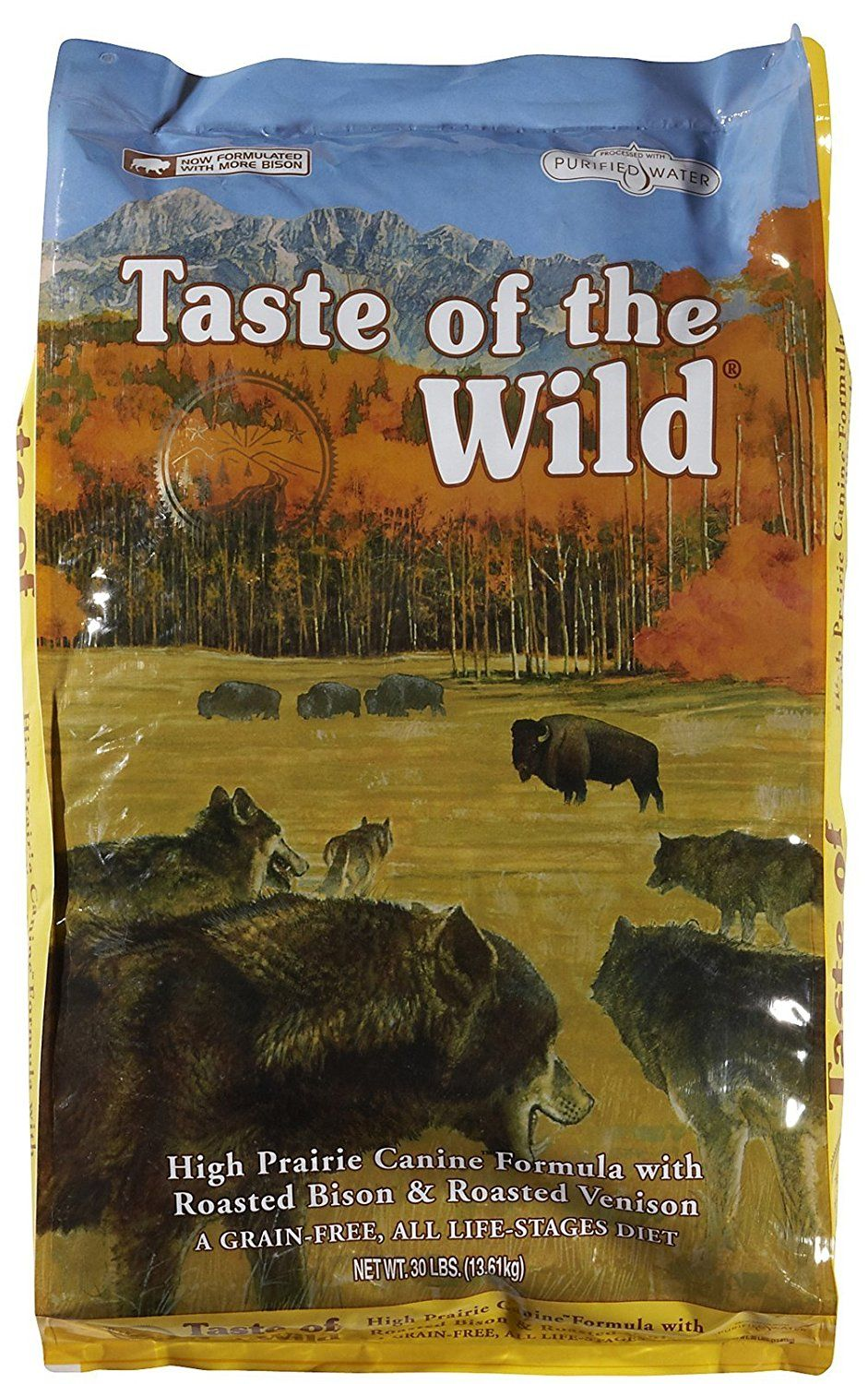 Taste Of The Wild High Prairie Roasted Bison And Venison 30 Lb