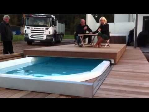 Swim Spa Elektrische Abdeckung Thermo Cover Slide Tcs Youtube Swim Spa Swimming Pool Designs Swimming Pools Backyard