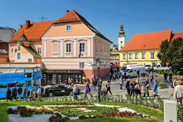 Upper Town Zagreb Visit Denmark Tourist Attraction Tourist