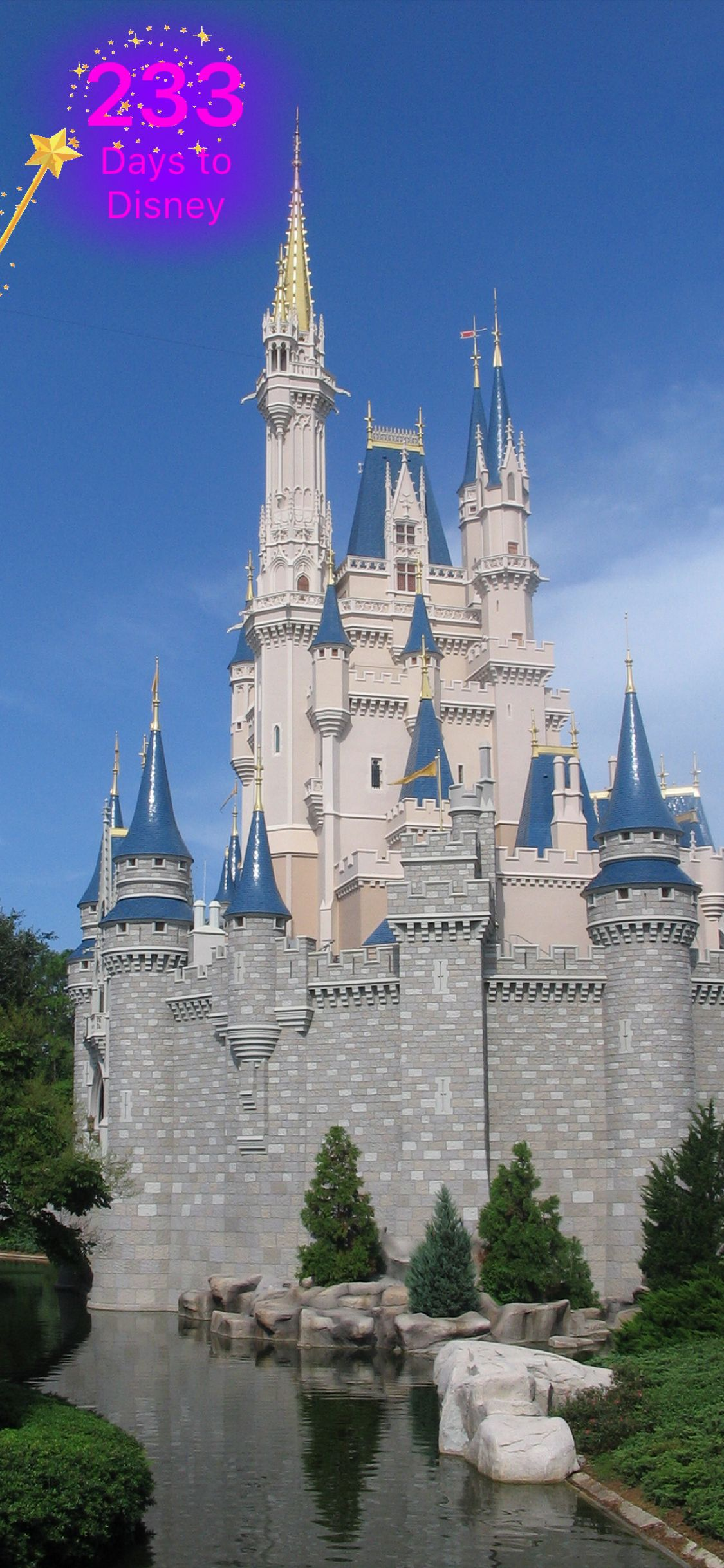 Counting down to my Disney vacation  Disney vacations
