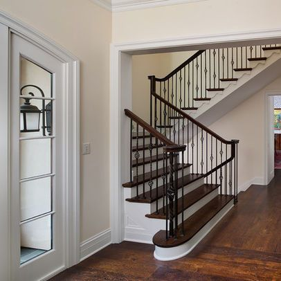 Best Traditional Staircase Wrought Iron Stairs Design Ideas 640 x 480