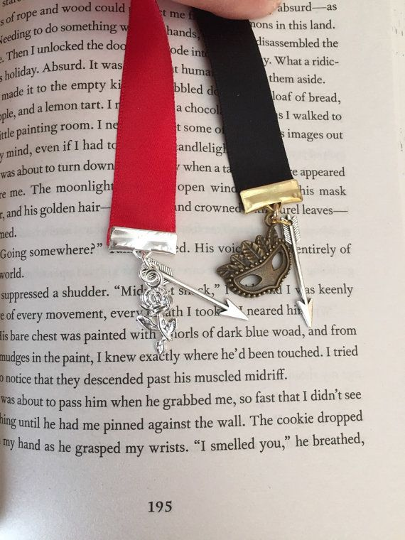 A Court Of Thorns And Roses Bookmark By Markedbooks On Etsy The
