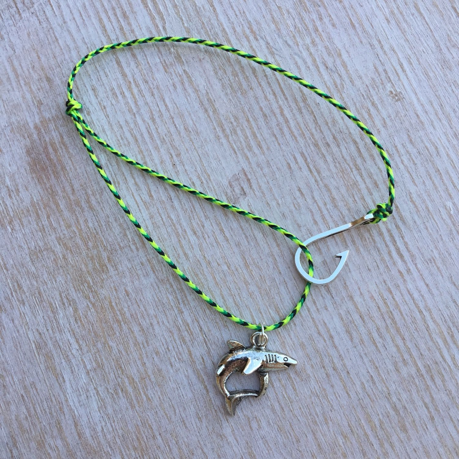 jewelry in micro paracord up clasp fish a by bull hook and nautical upyouranchor anklet multi color from shark with pin