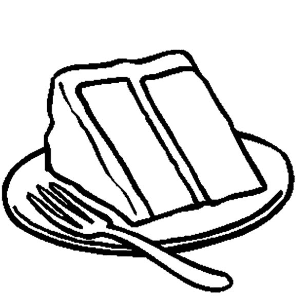 Drawing Cake Slice Coloring Pages Best Place To Color In 2020 Cake Slice Cake Drawing Coloring Pages