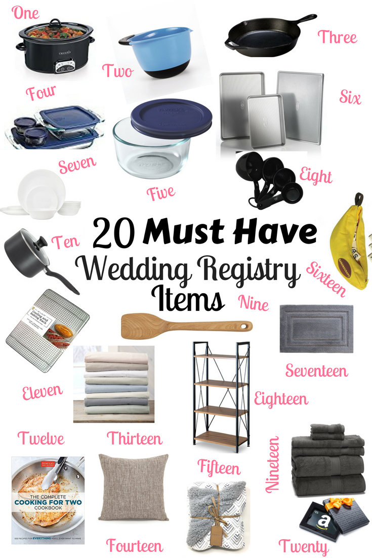20 Products Every Engaged Couple Needs On Their Wedding