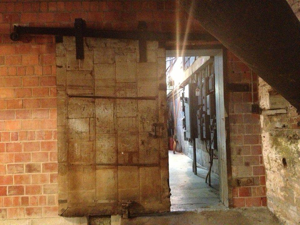 Buffalo trace distilleryhas anybody seen this door it