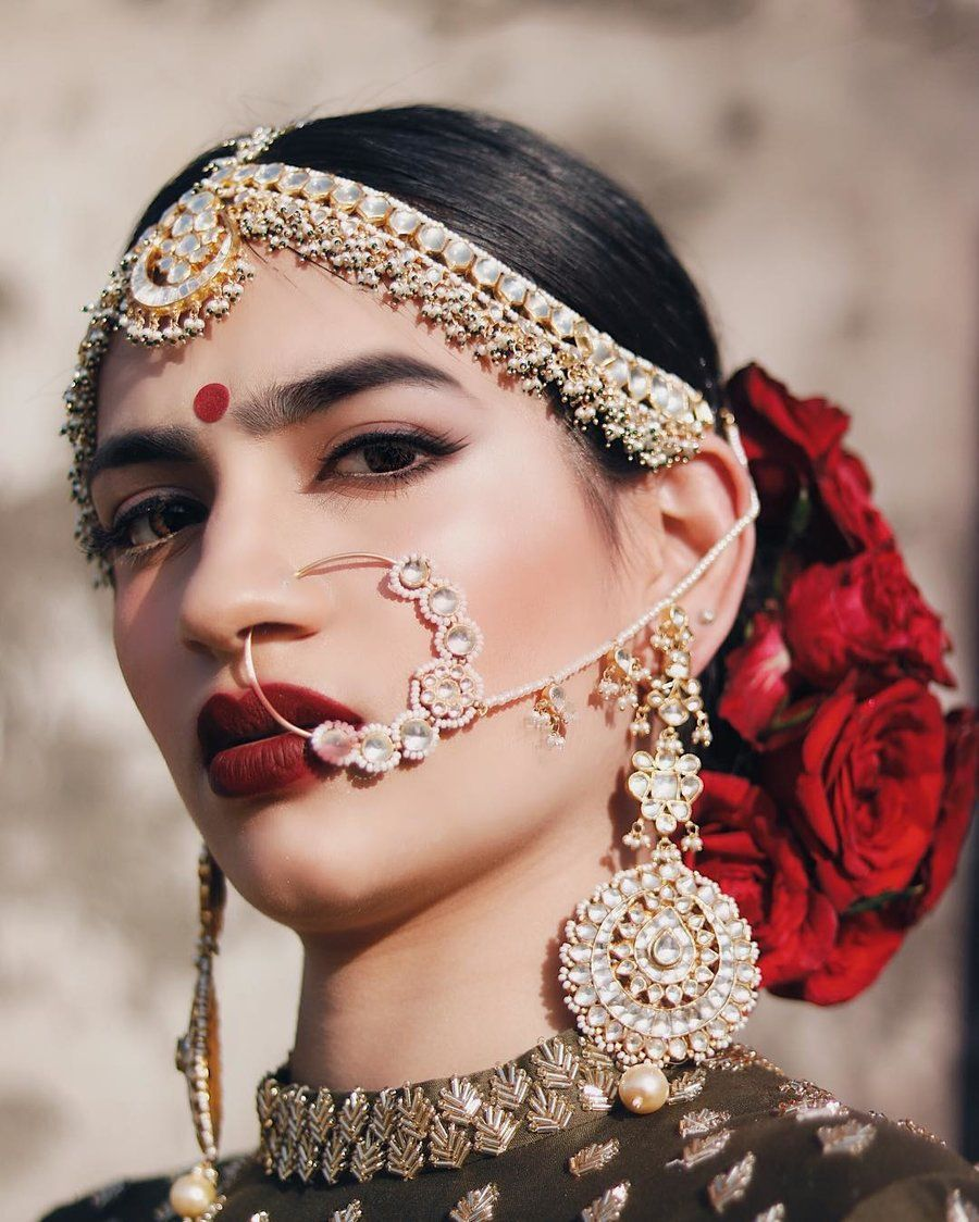 45 Trending Matha Patti Designs Worn By Real Brides All Kinds