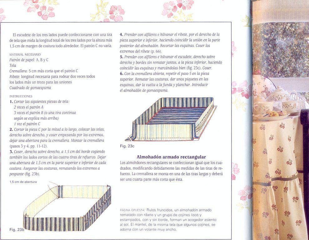 TUTORIAL COMO HACER DISTINTOS MODELOS DE COJINES | DIY | Pinterest ...