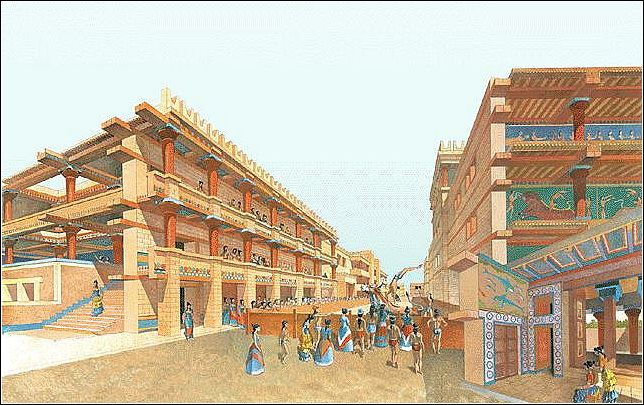 island on which the minoan civilization flourished
