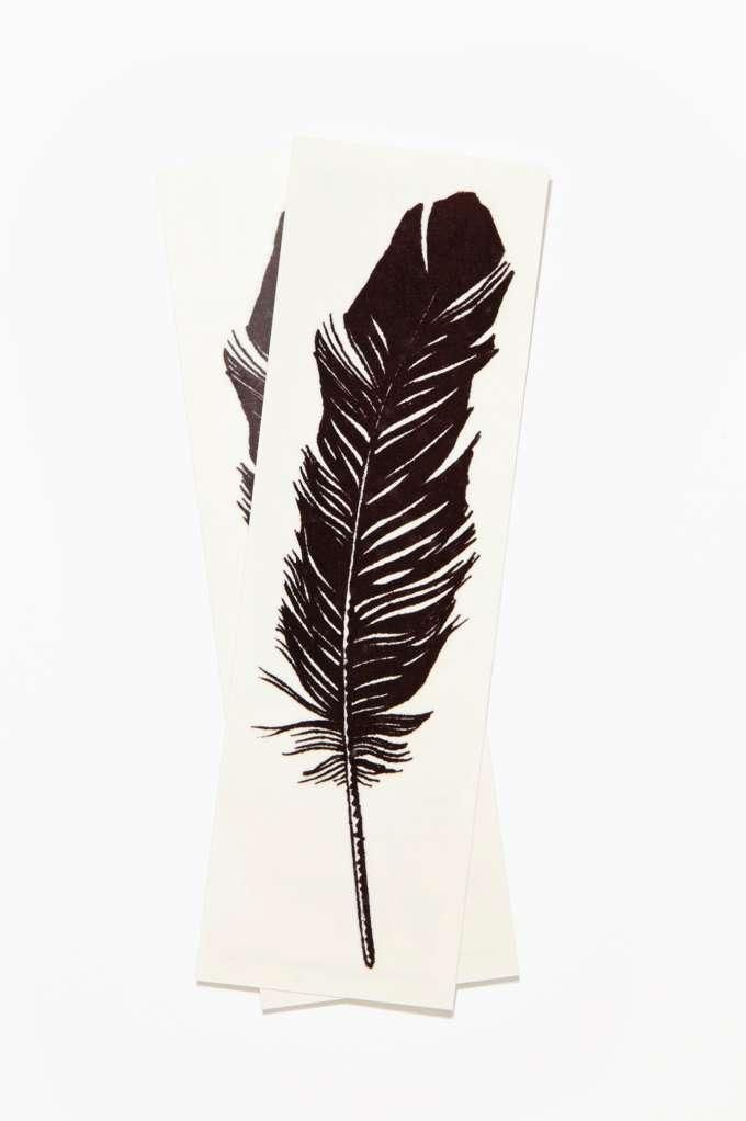 Tattly Feather Temporary Tattoo Pack