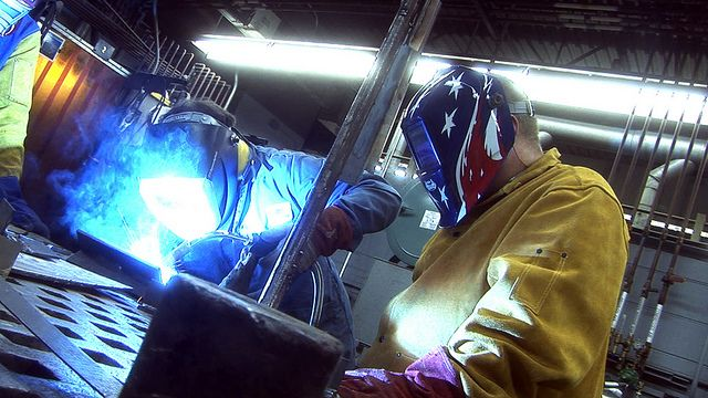 Earn a Technical Diploma in Welding in one year! This program - new blueprint book for welders