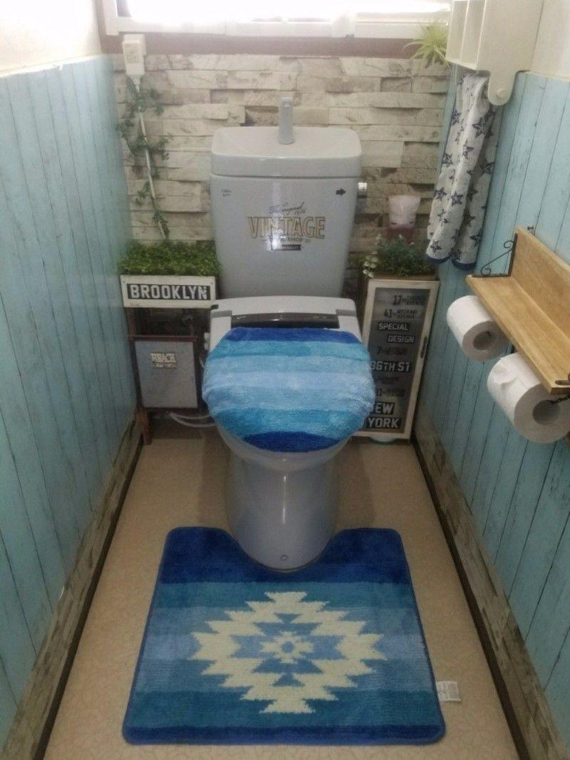 買い物レポ 900円で即決 カリフォルニアのビーチを感じるトイレ