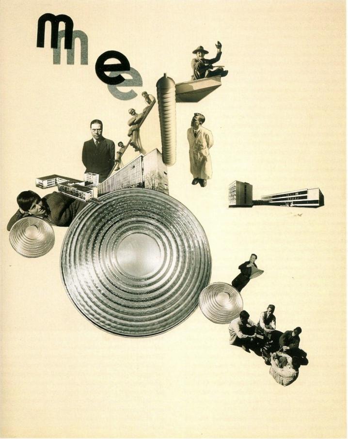 Marianne Brandt Bauhaus Weimar Fotomontage Bauhaus