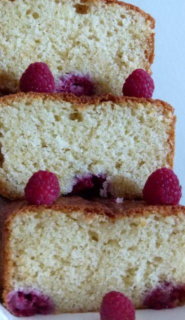Al Calor del horno: Cake de limon con frambuesas.