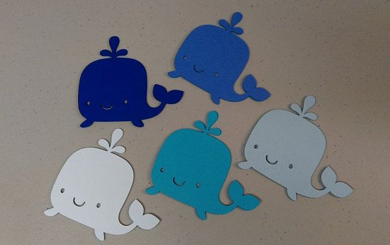Whale Die Cut Shapes Whale Cutouts 5 by MyThreeSonsByKristin