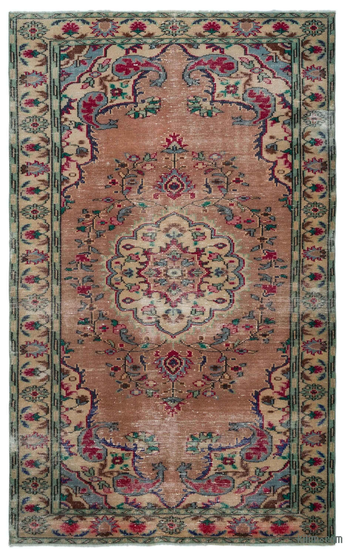 Turkish Vintage Area Rug 5 5 X 8 9 165 Cm X 266 Cm Vintage