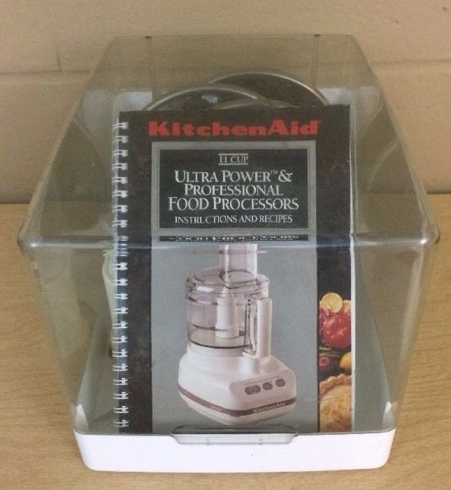 Kitchenaid Food Processor Blades And Storage Case Pre Owned Kfp 600 Nice