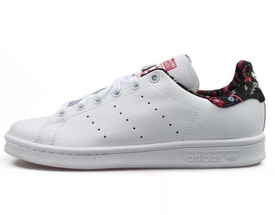 adidas originals stan smith flower