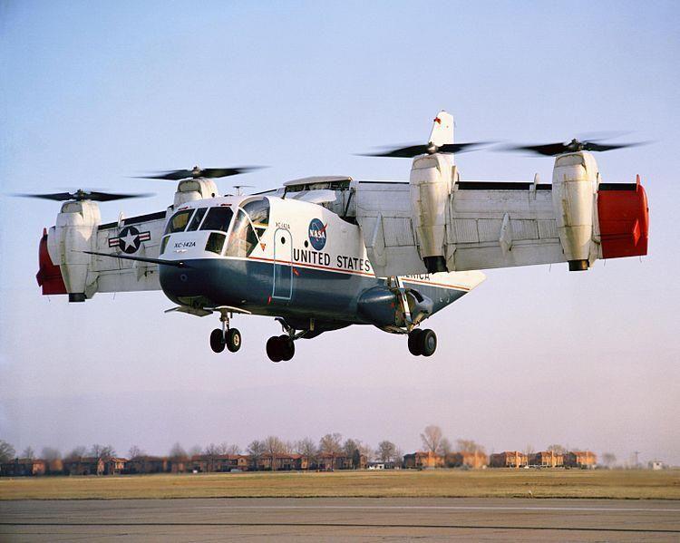LTV XC-142 #aircraft #airplane #aircopter