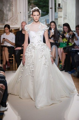 Georges Hobeika at Haute Couture Fashion Week Paris: A/W 2012-2013- Very bridal indeed