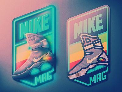 Nike Air Mag Badge | Nike air mag