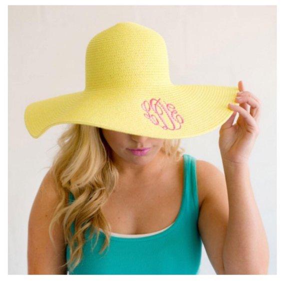 a9895f00fa42b Monogram Sun Hat