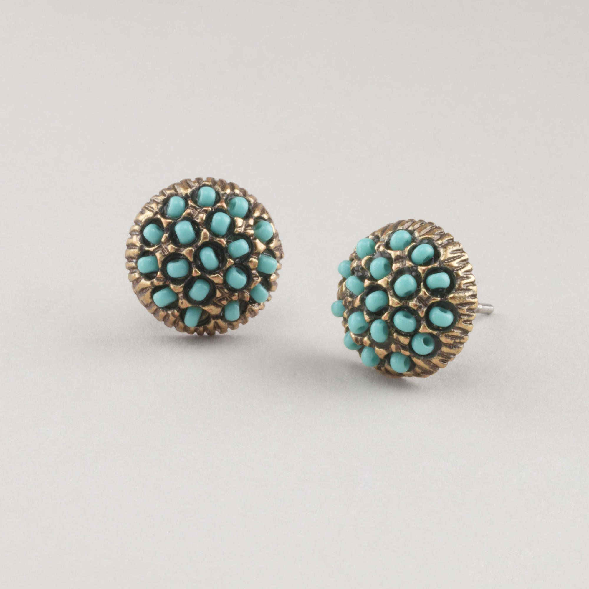 Love these earrings from world market!