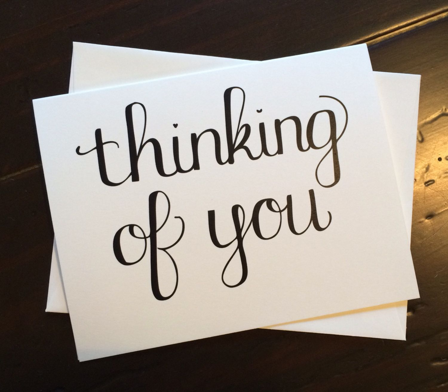 This Thinking Of You Card Is Perfect For A Sweet Note To A